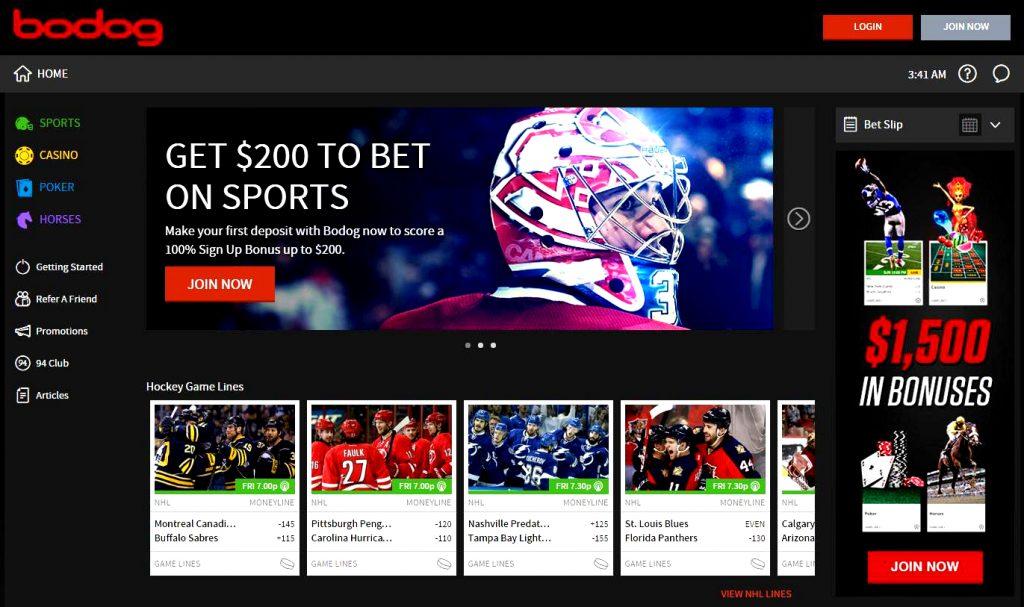 Bodog betting sites